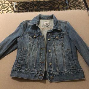 Old Navy cropped denim jacket